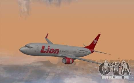 Lion Air Boeing 737 - 900ER para GTA San Andreas