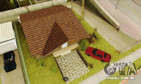 Novas texturas da casa de Denis para GTA San Andreas sexta tela