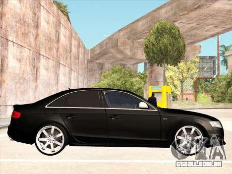 Audi S4 para GTA San Andreas vista direita