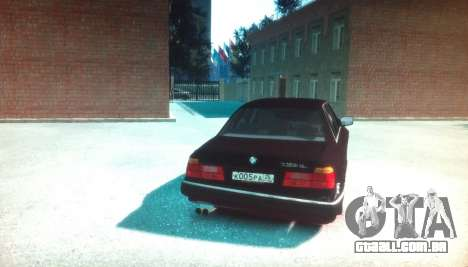 BMW 735iL E32 ver 2 para GTA 4 traseira esquerda vista