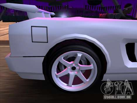 New Infernus para GTA San Andreas vista interior