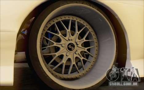 Nissan 240sx Blister para GTA San Andreas vista traseira