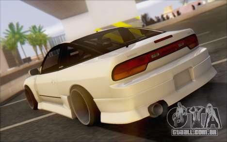Nissan 240sx Blister para GTA San Andreas traseira esquerda vista