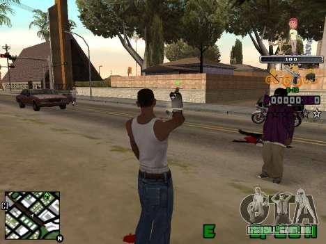 C-HUD Prostokvashino para GTA San Andreas segunda tela