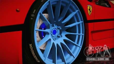 Ferrari F50 1995 para GTA San Andreas traseira esquerda vista