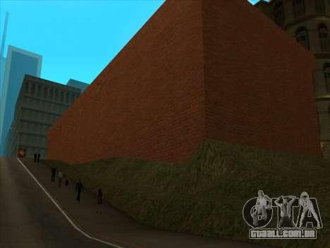 O novo depósito, em San Piero para GTA San Andreas quinto tela