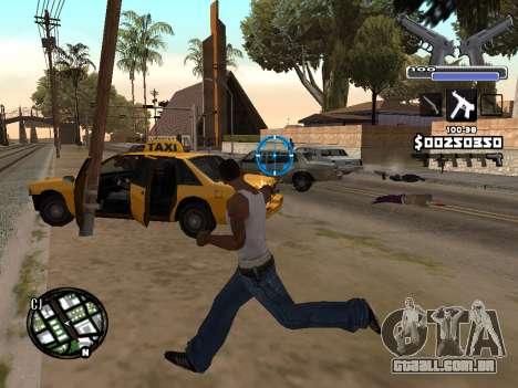 C-HUD Deagle para GTA San Andreas terceira tela