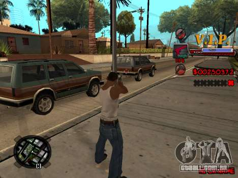 C-HUD VIP para GTA San Andreas