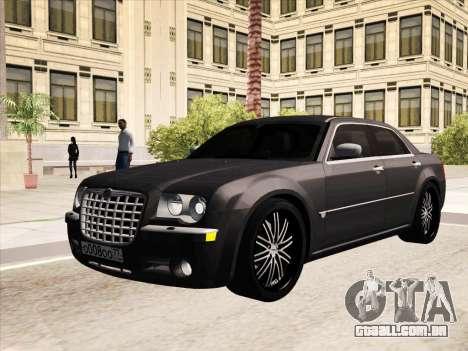 Chrysler 300C 2009 para GTA San Andreas vista inferior