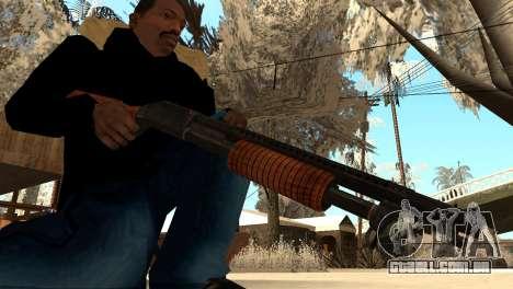 M1897 from Battle Territory Battery para GTA San Andreas segunda tela