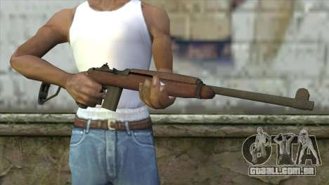 MK-18 Assault Rifle para GTA San Andreas terceira tela