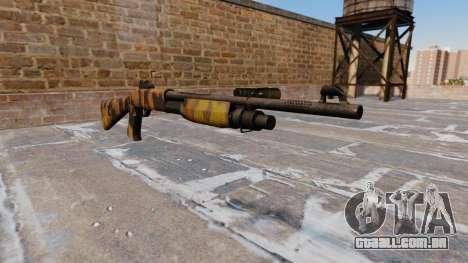 Ружье Benelli M3 Super 90 Queda Camos para GTA 4