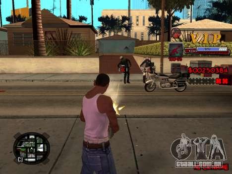 C-HUD VIP para GTA San Andreas sexta tela