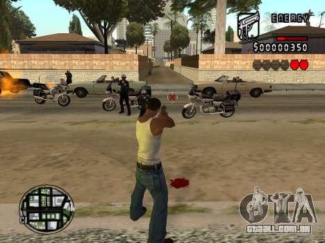 C-HUD Energy para GTA San Andreas