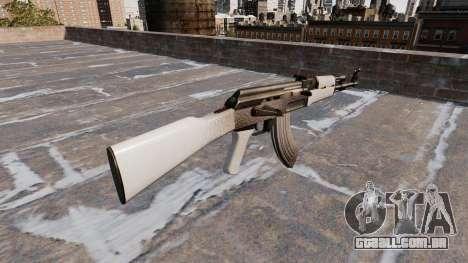 A AK-47 Chrome para GTA 4 segundo screenshot