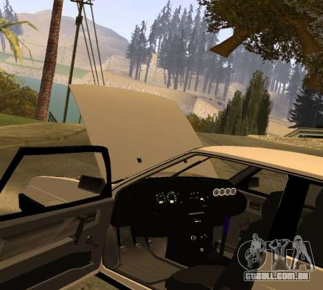 ВАЗ 2108 GVR Versão 2.0 para GTA San Andreas vista direita