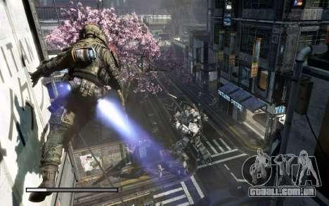 Arranque telas e menus Titanfall para GTA San Andreas twelth tela