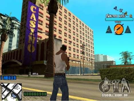 Hud ACAB para GTA San Andreas terceira tela