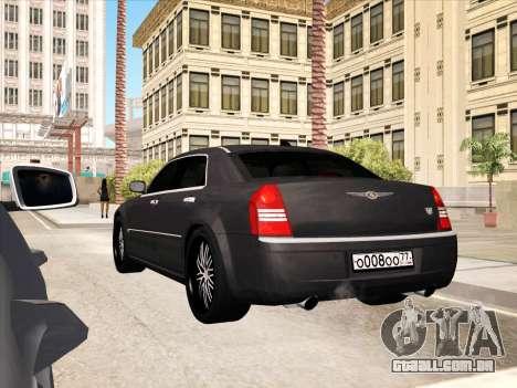 Chrysler 300C 2009 para o motor de GTA San Andreas