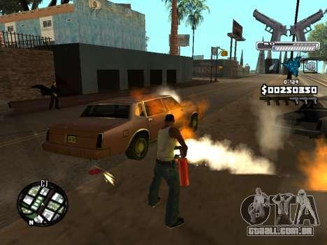 C-HUD Deagle para GTA San Andreas sétima tela