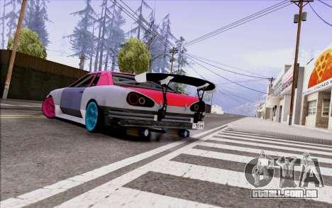 Elegy New Drift Kor4 para GTA San Andreas esquerda vista