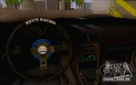 Nissan 240sx Blister para GTA San Andreas vista interior