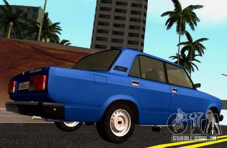 VAZ-2107 Riva para GTA San Andreas esquerda vista