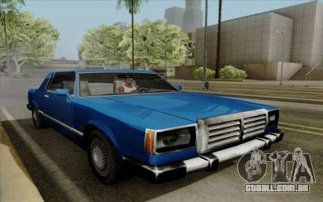 Feltzer hard top para GTA San Andreas vista traseira