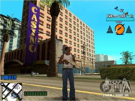 Hud ACAB para GTA San Andreas segunda tela