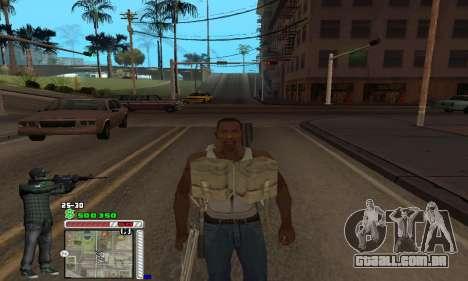 C-HUD Grove by Krutoyses para GTA San Andreas por diante tela