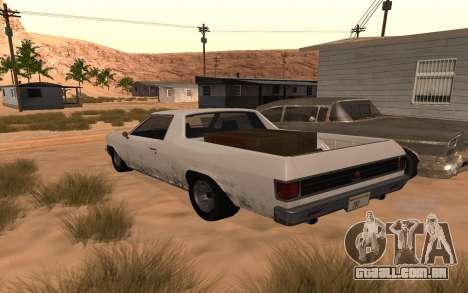 Picador GTA 5 para GTA San Andreas esquerda vista