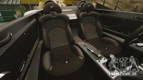 Pagani Zonda C12 S Roadster 2001 PJ6 para GTA 4 vista lateral