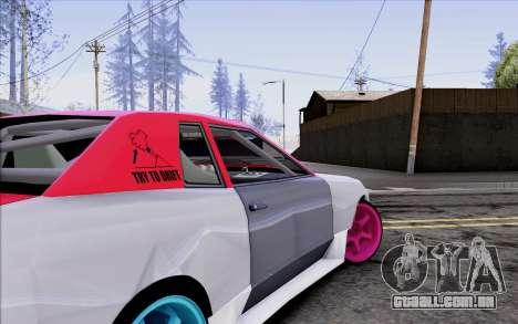 Elegy New Drift Kor4 para GTA San Andreas vista superior