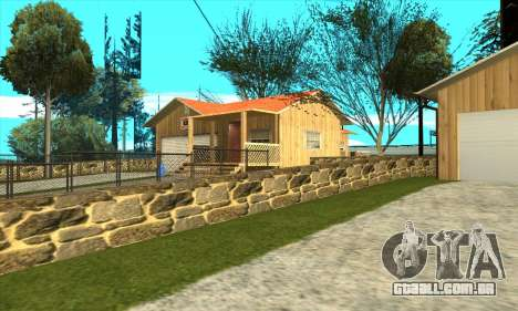 Nova casa do Sijia em Palomino Chorar para GTA San Andreas segunda tela
