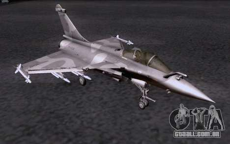 Dassault Rafale M para vista lateral GTA San Andreas