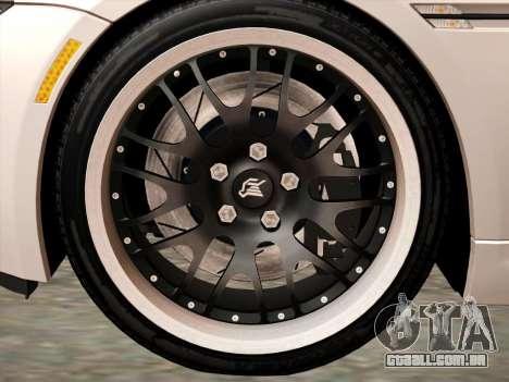 BMW M6 Hamann para GTA San Andreas vista traseira