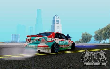 Toyota Altezza Addinol para GTA San Andreas vista direita