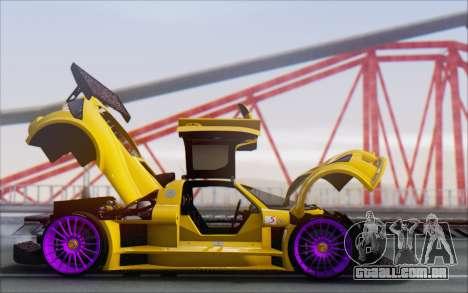 Gumpert Apollo S Autovista para vista lateral GTA San Andreas