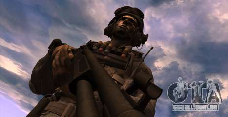 Tenente David Hesh Walker из Call Of Duty: Ghost para GTA San Andreas terceira tela