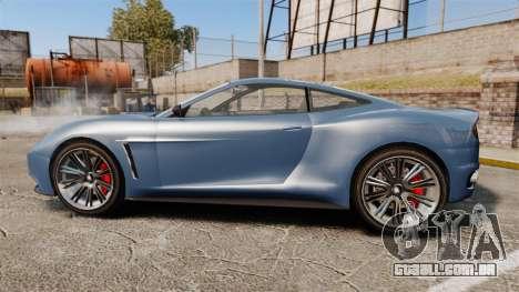 GTA V Dewbauchee Massacro para GTA 4 esquerda vista