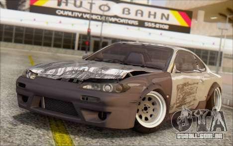 Nissan Silvia S15 Fail Camber para vista lateral GTA San Andreas