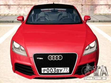Audi TT RS 2010 para GTA San Andreas esquerda vista
