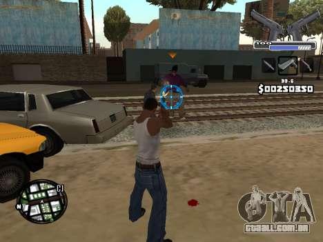C-HUD Deagle para GTA San Andreas quinto tela
