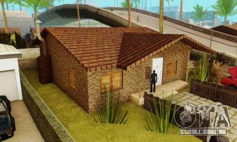Novas texturas da casa de Denis para GTA San Andreas segunda tela
