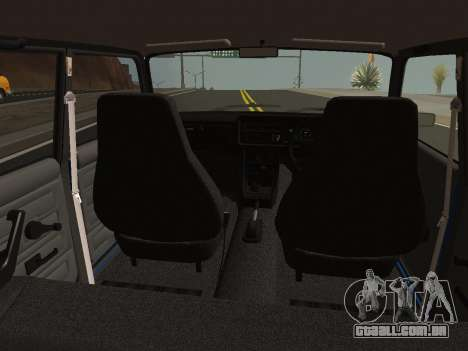 VAZ-2107 Riva para GTA San Andreas vista direita