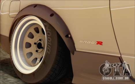 Nissan Silvia S15 Fail Camber para GTA San Andreas vista traseira