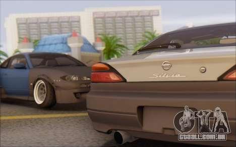 Nissan Silvia S15 Fail Camber para GTA San Andreas esquerda vista