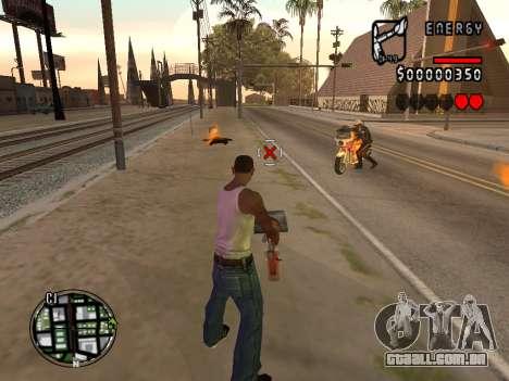 C-HUD Energy para GTA San Andreas segunda tela