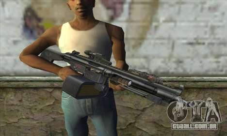 HK 23E para GTA San Andreas terceira tela