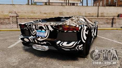 Lamborghini Aventador LP700-4 2012 [EPM] Circle para GTA 4 traseira esquerda vista